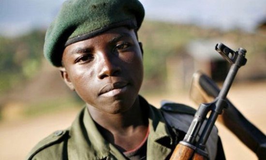 freelance - child soldier pic