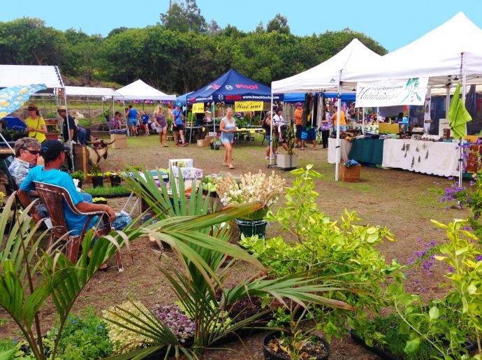 travel - maui farmers markets