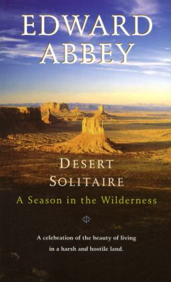 Desert Solitaire by Edward Abbey - Book Cover