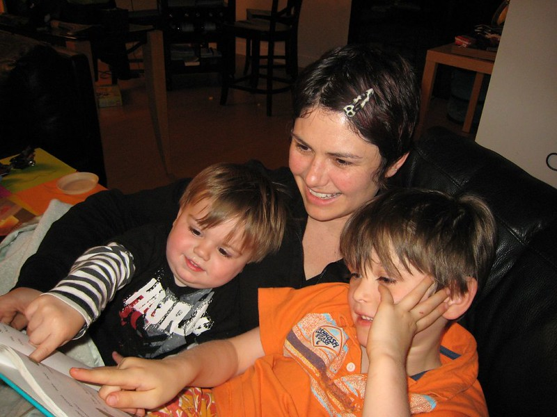 Benefits of Reading To Young Children - quality time PC Neeta Lind