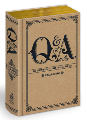 best journal books - q&a a day