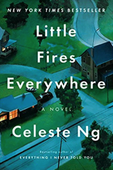 2018 fiction best sellers list - little fires everywhere