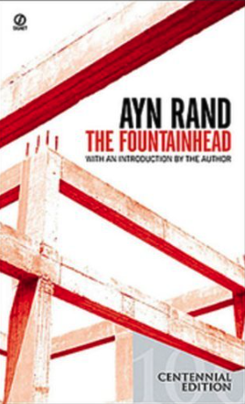 analyzing the fountainhead by ayn rand - front cover 2