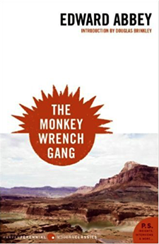 monkey wrench gang book review - book cover