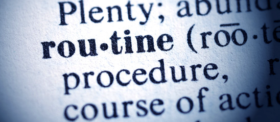 how to unblock writers block - routine
