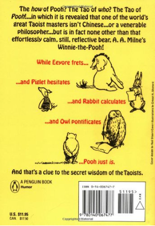 quotes from the tao of pooh - back cover
