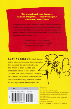slaughterhouse five summary - back cover