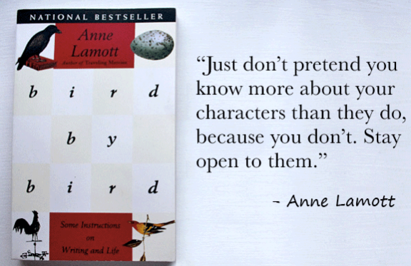 lessons from bird by bird by anne lamott - quote