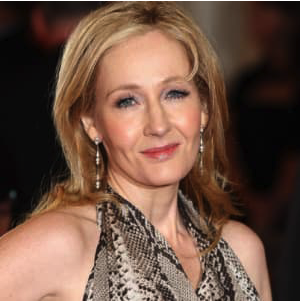 the best selling female fiction authors - jk rowling