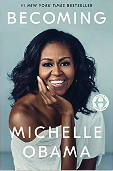best selling non fiction books of 2018 - becoming michelle obama