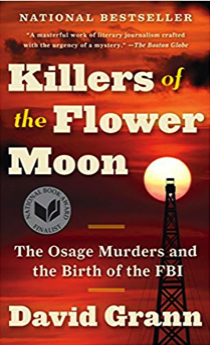 best selling non fiction books of 2018 - killers of the flower moon david grann