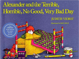 my favorite childhood books - alexander and the terrible horrible no good very bad day