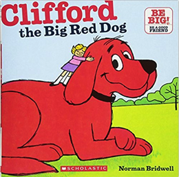 my favorite childhood books - clifford the big red dog