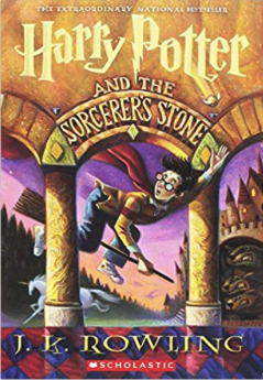 my favorite childhood books - harry potter and the sorcerers stone