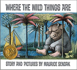 my favorite childhood books - where the wild things are