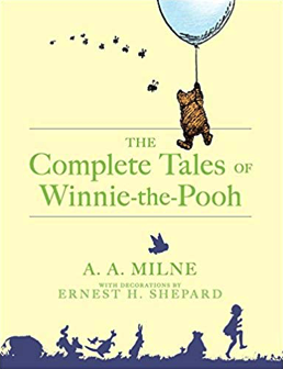 my favorite childhood books - winnie the pooh