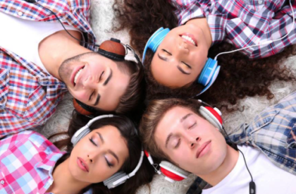 Listen and Learn The Benefits of Audiobooks - group entertainment