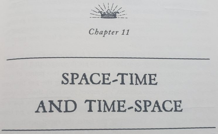Becoming Supernatural Book Review - Chapter 11 Space-Time and Time-Space