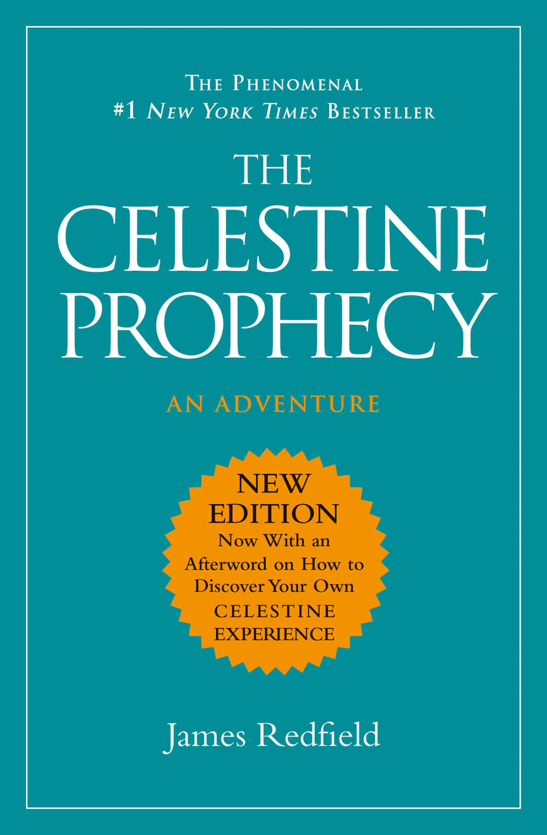 The Celestine Prophecy Book Review Front Cover Updated