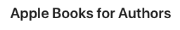 The Best Free Self Publishing Sites - apple books