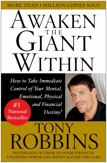 The Best Self Improvement Books of 2020 - awaken the giant within