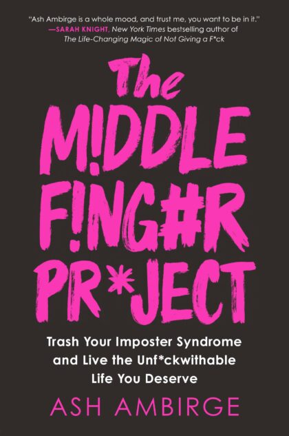The Best Self Improvement Books of 2020 - middle finger project